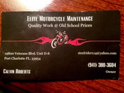 Motorcycle repair!!