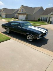 1970 Chevrolet Chevelle leather